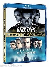 STAR TREK + STAR TREK: Into Darkness (2 BLU-RAY) Cofanetto 2 FILM DEFINIZIONE HD