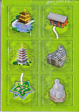 CARCASSONNE: CLOISTERS/TEMPLES IN JAPAN (6 TILE EXPANSION) NEW EDITION