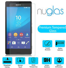 100% GENUINE NUGLAS TEMPERED GLASS SCREEN PROTECTOR FOR SONY XPERIA Z2 COMPACT