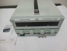 VEKTRON CORP. VT5020 0-50Vdc 0-20A Variable Bench Power Supply 72-7700