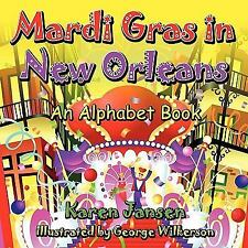 Mardi Gras in New Orleans: An Alphabet Book-ExLibrary