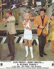 ELVIS PRESLEY  SPEEDWAY 1968 VINTAGE LOBBY CARD  #7