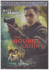 BOURNE IDENTITY (DVD, 2004,FF, Explosive Extended) NEW