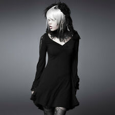 New Punk Rave Sexy Gothic Top Blouse Short Dress PQ-022 ALL STOCK IN AUSTRALIA!