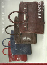 GROS & DELETTREZ HERMES Vintage Handbags Kelly Birkin Auction Catalog 2012 04