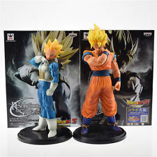 2pcs Dragon Ball Z DBZ Resolution Son Gokou & Vegeta PVC Figure Set Collection