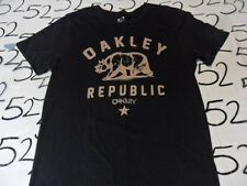 Medium- Oakley Republic Slim Fit T- Shirt