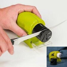 Electric Ceramic Knife Sharpener Stone Sharpening System Kitchen Grindstone Hot