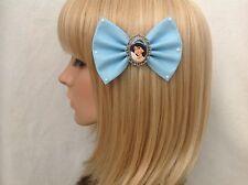 Princess Jasmine hair bow clip rockabilly pin up disney Aladdin genie girls
