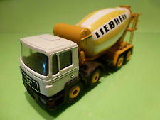 CONRAD MAN TRUCK CONCRETE MIXER - LIEBHERR 1:50 - VERY GOOD CONDITION