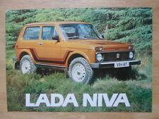 LADA NIVA orig 1978-79 UK Mkt Sales Brochure