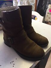 Office Suede Boots Size 6