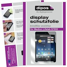 2x Medion Lifetab S7852 screen protector protection guard crystal clear