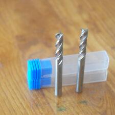 Extra Long(68mm) 5mm 3 Flute HSS & Aluminium End Mill Cutter CNC Bit 2Pcs