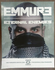 Music Poster Promo EMMURE ~ Eternal Enemies