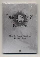 Cd DEATH NOTE 2 The last name NUOVO 2006 Kenji Kawai OST Soundtrack Manga