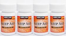 Kirkland Sleep Aid (Doxylamine succinate) 25 mg 384 Tablets - Brand New Sealed