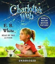Charlotte's Web by E. B. White (2002, CD, Anniversary, Unabridged)