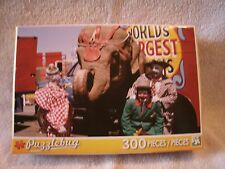 Three Circus Clowns And Elephant 300 Piece Puzzle