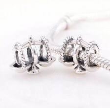 LIBRA-Zodiac-Justice Scale-Genuine Solid 925 sterling silver European charm bead