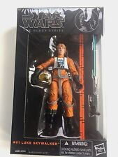 "Star Wars The Black Series Luke Skywalker Pilot #01 6"" Figure NEW Japan Import"