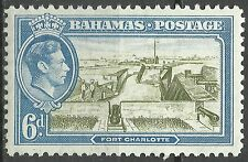 Bahamas Chateau Fort Charlotte Stronghold Castle Burg Roi George VI  King **1938