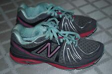 New Balance 790 v3 Grey Pink Light Green Athletic Shoes size 8.5 Women