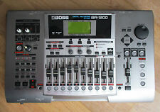 Boss BR-1200CD Digital Recording Workstation + Roland Power Supply