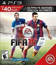 FIFA 15 -- Ultimate Edition Sony PlayStation 3 PS3 New FAST FREE Shipping