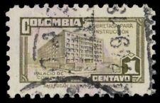 """COLOMBIA RA33 (Mi Z29a) - Ministry of Posts and Telegraph """"Postal Tax"""" (pf45055)"""