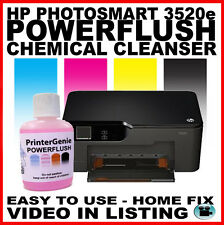 HP photosmart 3520e head cleaner: buse Nettoyant & tête d'impression déboucheur