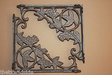 (2),GRAPE, LEAF,CORBELS, SHELF BRACKETS,WALL BRACKETS,COUNTRY DECOR, B-12