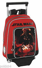 Star Wars cartable à roulettes trolley M sac Dark Vador 34 cm maternelle 196746