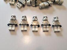 LEGO Star Wars Storm Trooper Lot of 5 minifigure minifig Clone Wars - Lot UNL