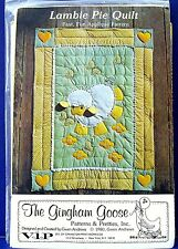 Baby Lamb Crib Quilt Sewing Pattern Nursery Applique Quilting Patchwork Blanket