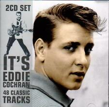 EDDIE COCHRAN - IT'S EDDIE COCHRAN - 48 CLASSIC TRACKS (NEW SEALED 2CD)