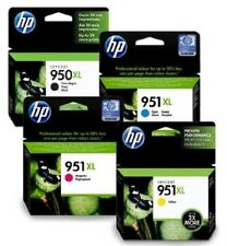 Genuine HP 950XL 951XL Multipack 4 Ink Cartridges for OfficeJet 8100 8600 Plus