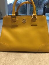 100% Genuine Tory Burch bag, Mustard Colour Bag