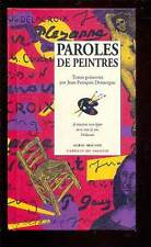Paroles de Peintres, Albin Michel Carnets de Sagesse 1997