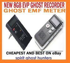 GHOST 8GB Registratore EVP + Misuratore EMF Lettore trigger spirito PARANORMAL EQUIPMENT