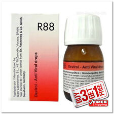 Dr.Reckeweg Germany R88 Anti Viral Drops Genuine Homeopath 30ml {BUY3 GET1 FREE}