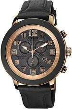 NEW Men's Citizen Eco-Drive Chronograph Date Genuine Leather Watch AT2233-05E