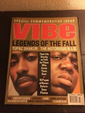 Vibe Legends Of The Fall Tupac + The Notorious Big