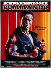 COMMANDO Affiche Cinéma ORIGINALE / French Movie Poster ARNOLD SCHWARZENEGGER