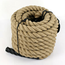 "1.5"" 50' Manila Rope Cut Nautical Landscape Fitness Dock"
