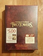 The Lord of the Rings: The Two Towers Special Extended Edition Brand New DVD Set