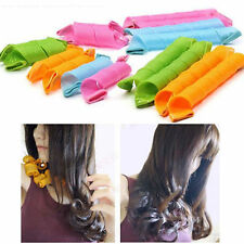 18PCS Fashion DIY Hair Rollers Curlers Magic Circle Twist Spiral Styling Tools