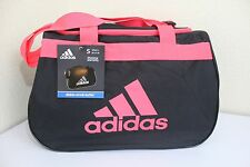 ADIDAS Diablo Small Duffel Women Gym bag luggage Black/Infrared fits in locker