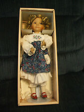 "Ashton Drake Doll ""Goldilocks"" with COA Dianna Effner for Edwin M. Knowles Co."