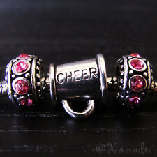 Cheerleader Bullhorn European Bead And Birthstone Charms For Charm Bracelets